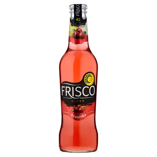 Frisco Cider brusinka 330 ml sklo