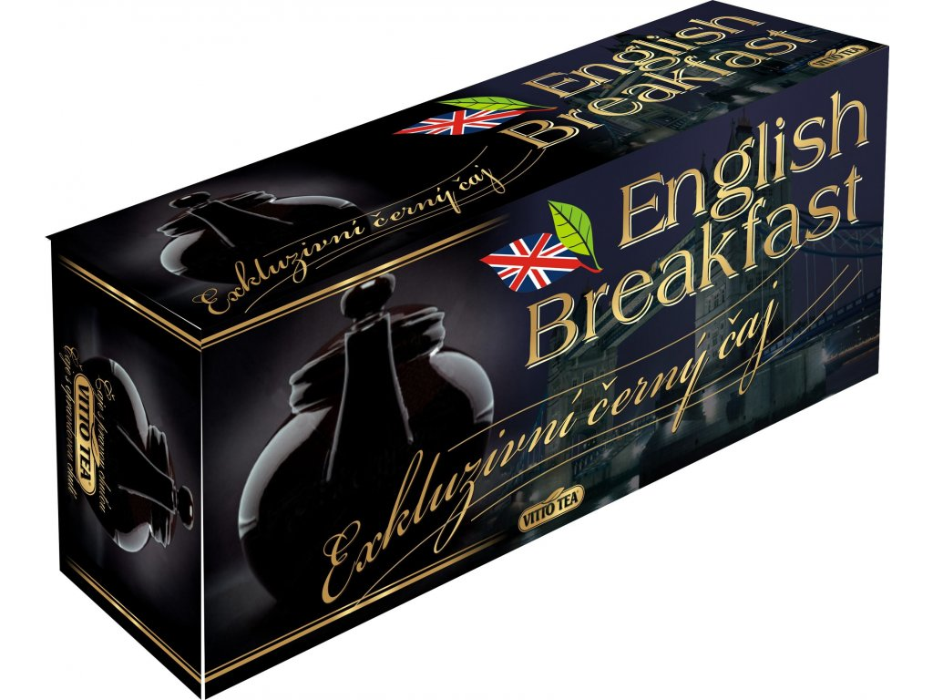 Čaj Vitto tea english breakfast  80 x 1,5g