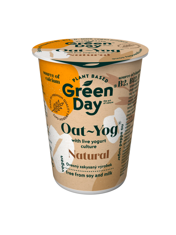 Ovesný dezert Green day oat natural 150g