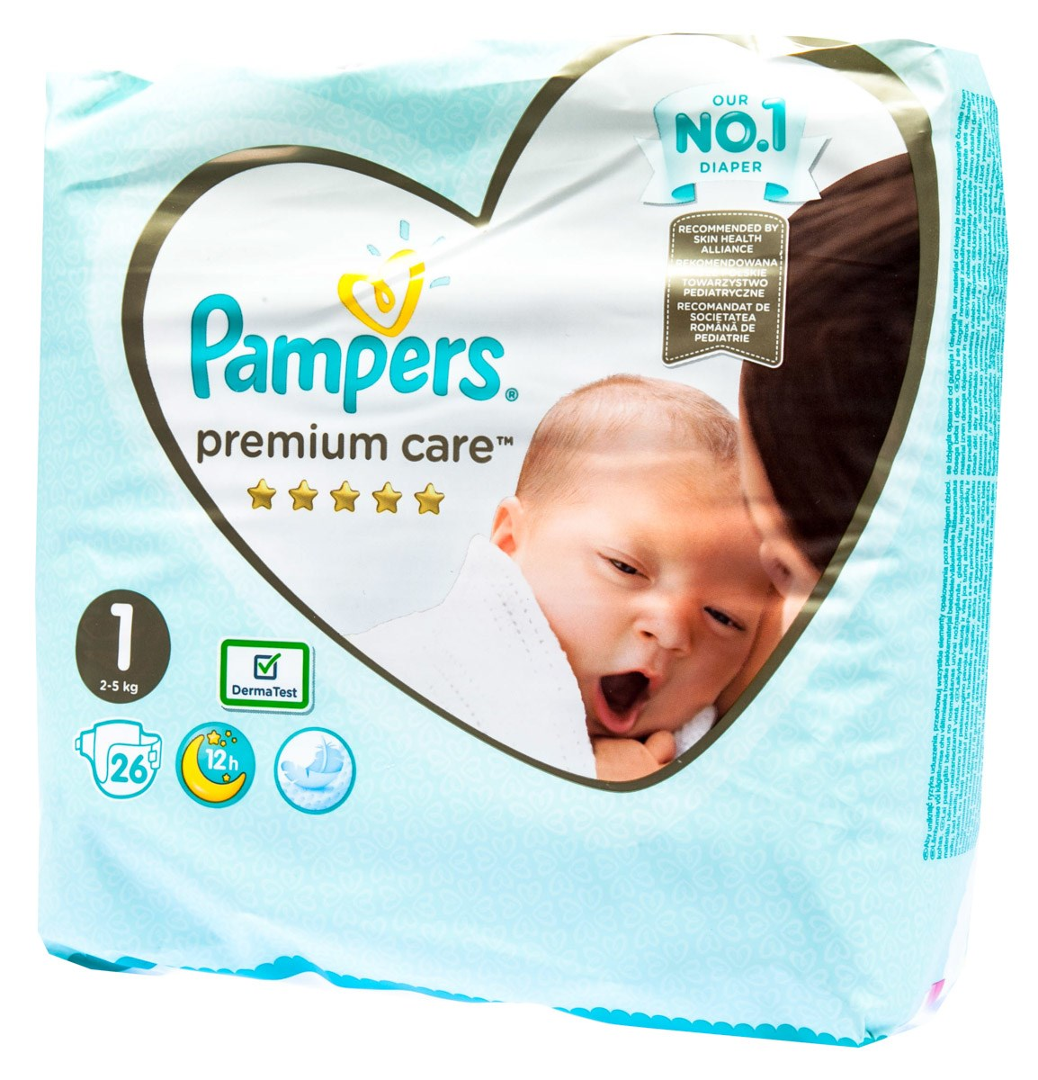 Pampers premium small S1